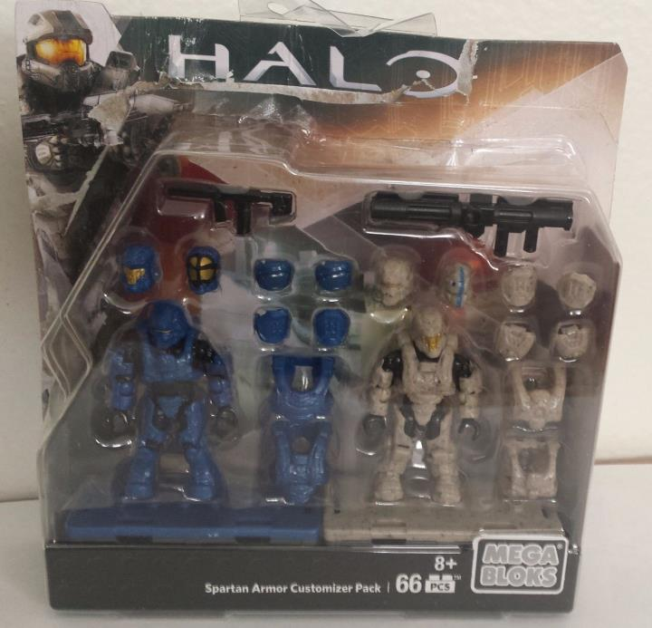 MEGA BLOKS Halo SPARTAN ARMOR CUSTOMIZER PACK 66pcs 8+ 2