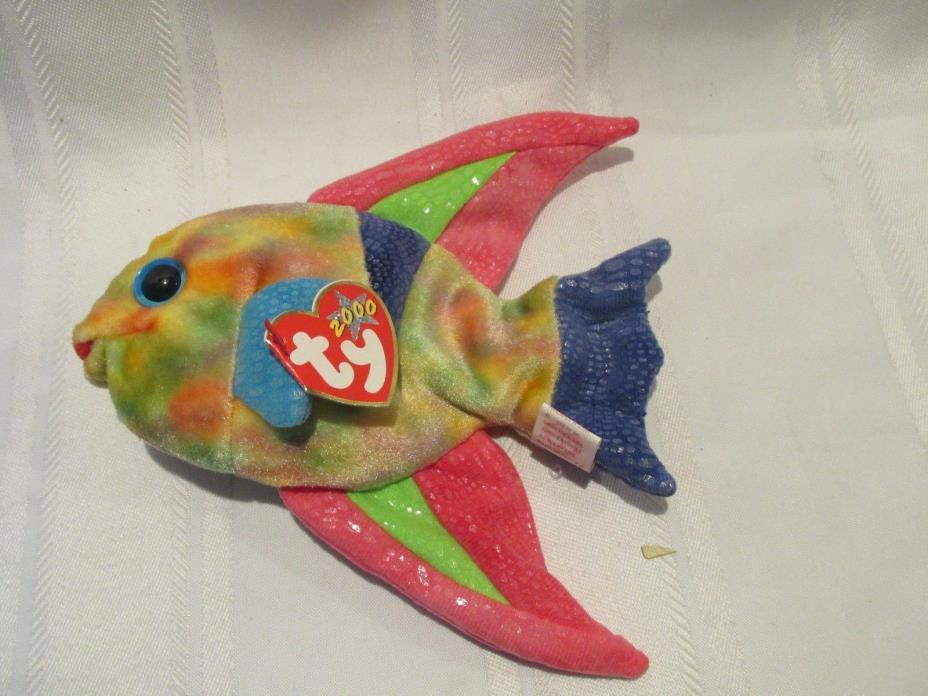 Ty Beanie Baby Aruba - Fish - Mint w/ Tags