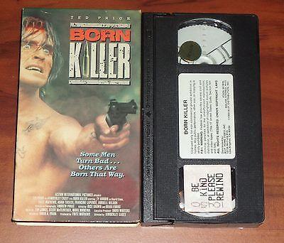Born Killer (1989, VHS) Vietnam War Horror Terror Violence Gore Ted Prior RARE