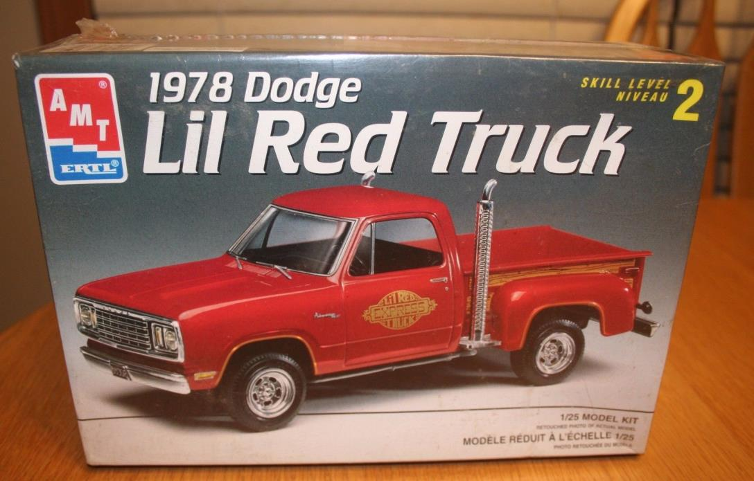 AMT 1978 Dodge Lil Red Truck Kit # 6459 Factory Sealed 10+ 1:25