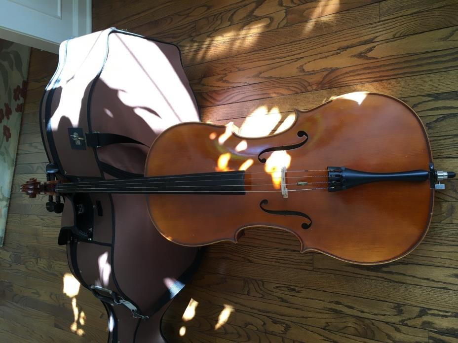 Paesold Cello- Full size, German made,  with hard case and possibly bow