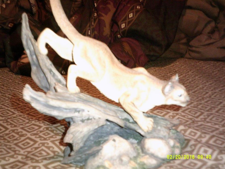 wild cat MOUNTAIN LION Silent Pursuit by Nick Bibby