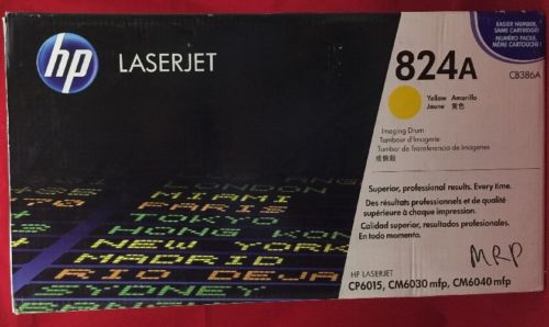 NEW Genuine HP 824A CB386A laserjet Yellow Imaging Drum CP6015 CM6030 CM6040
