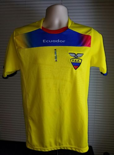 Ecuador National Soccer Team Jersey F.E.F. Size S ( Small )