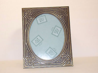 BOMBAY COMPANY - Brass-Like Metal Picture Frame - Made in Taiwan - 1998
