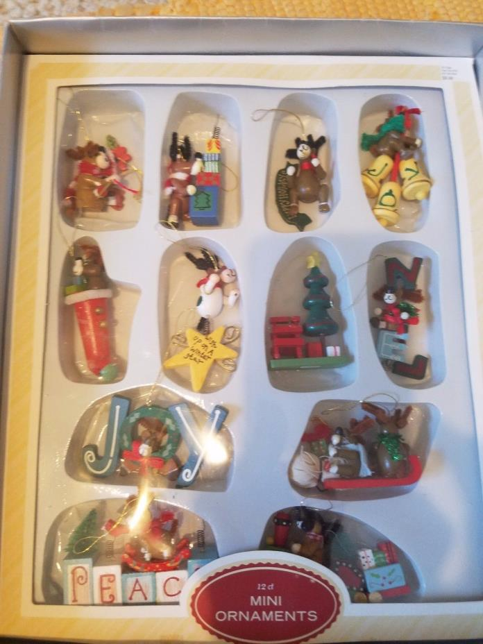 Christmas Miniatures - great for Crafting or decorating