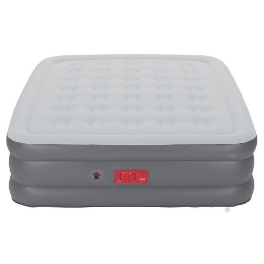 Queen Inflatable Double Mattress with Built in Pump Coleman New