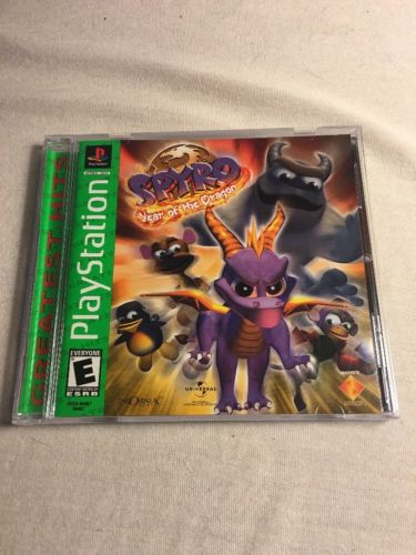 Spyro Year Of The Dragon Sony PlayStation PS1 *Complete*