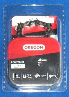 Oregon L74 Chain Saw Chain, 3/8 in X 18 inch - Fits Stihl Saws