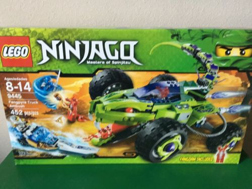 LEGO NINJAGO 9445 Fangpyre Truck Ambush FREE SHIPPING Brand New & Sealed