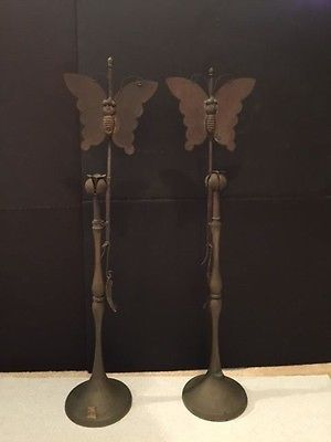 Korean Butterfly Candle Sticks