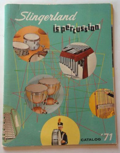 Slingerland Catalog 1971