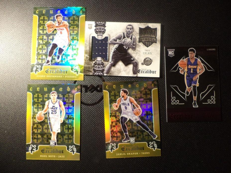 2016 Panini Excalibur Jersey RC Rampage /Jersey ROOKIE CARDS
