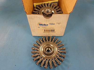 5-Weiler Mighty Mite Cable Twist Wire Wheel Brush 4