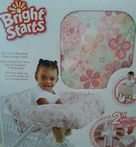 Baby girl seat cover