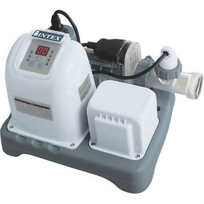System Saltwater Clear Pool 120v Filter Pump Swimming Above Ground 15,000 Gallon