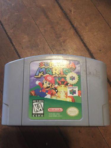 Super Mario 64 (Nintendo 64 N64)*