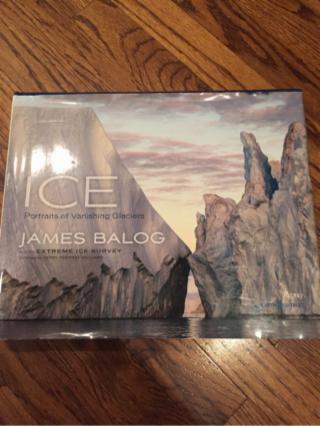 Iceland glacier photo book