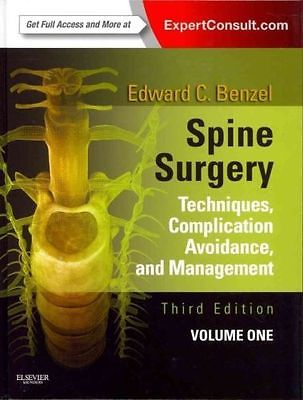 Spine Surgery Set : Techniques, Complication Avoidance and Management by...