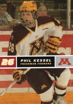 PHIL KESSEL 05-06  GOPHERS CARD