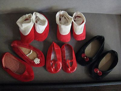 Vintage Lot of 5 Pairs Chatty Cathy, Chatty Baby, Singing Chatty Shoes