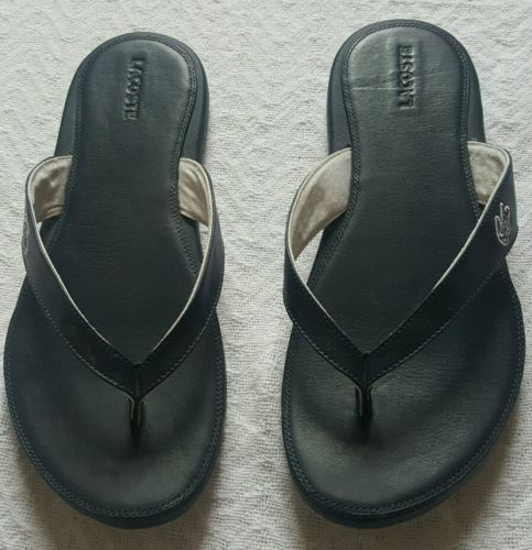 Lacoste Dark Blue Sandals Men's Size 11