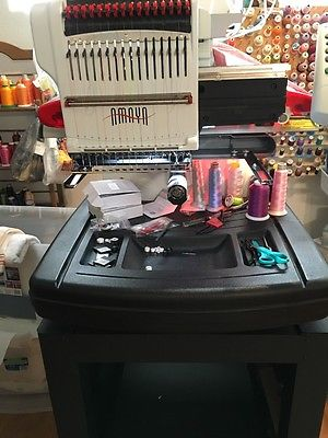 Amaya Melco XT Embroidery Machine Perfect Condition