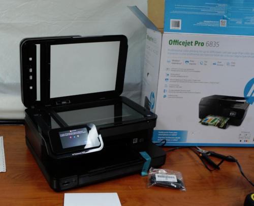 NEW IN BOX HP PHOTOSMART 7520 E-ALL-IN-ONE SERIES SDGOB-1221 PRINTER !   L501