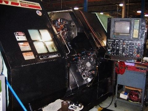 1990 Warner & Swasey MSeries 4 Axis CNC Turning Center * Twin Turrets!