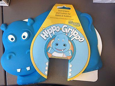 Baby Banana HippoGrippo High Chair, Blue slide restaurant babyproof hot pad kitc