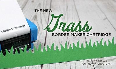 Creative Memories Border maker cartridge Grass