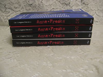 Anne Freaks vol. 1-4 Manga Graphic Novel Book COMPLETE Lot in English