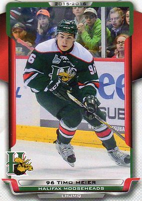 TIMO MEIER HALIFAX 15-16/HUSKIES CARD