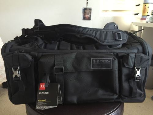 Under Armour Storm Range Duffle Bag Black New Updated Version Project Rock