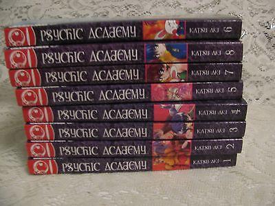 Psychic Academy Manga Book Lot Volumes 1-11 Katsu Aki