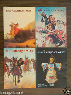 LOT OF 30 ~ THE AMERICAN WEST MAGAZINE, WESTERN HISTORY ~  ISSUES FROM 1972-1981
