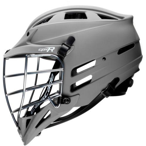 Brand New Cascade Cpx-r  Matte Grey Lacrosse Helmet