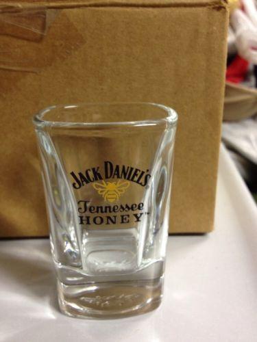 12 Jack Daniels Tennessee Honey Shot  Glasses