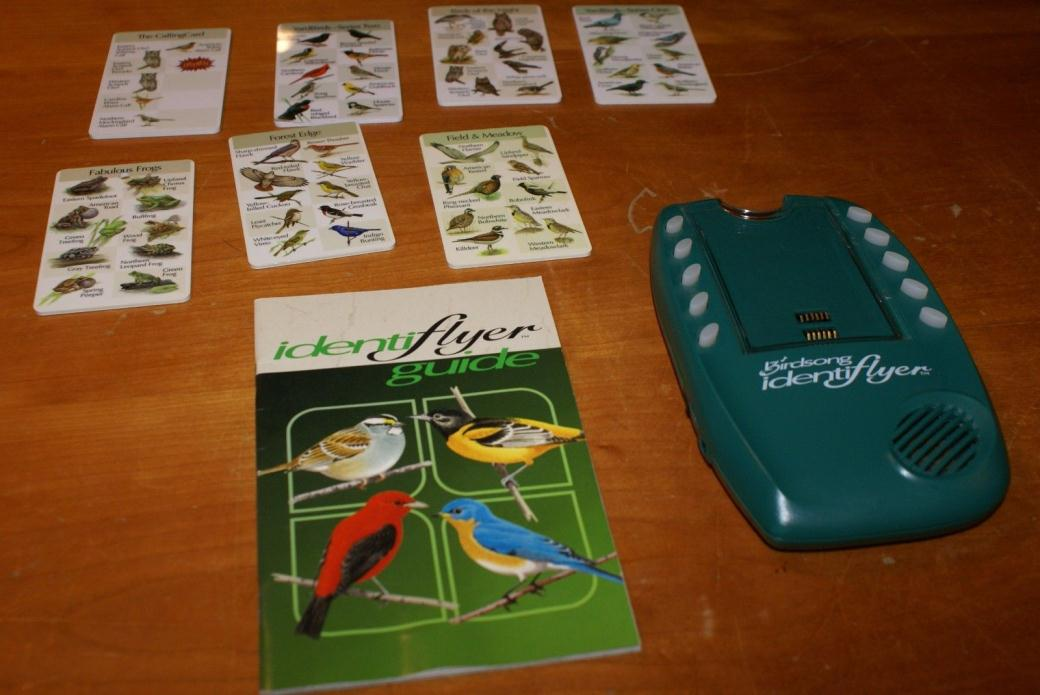 Birdsong Identiflyer Handheld Electronic Bird Song Identifier and 7 Cards,MANUAL