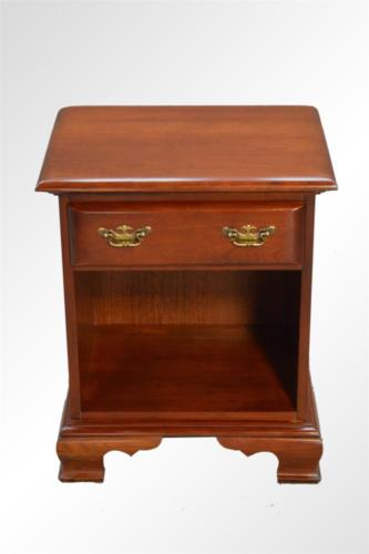 17519C Cherry Chippendale One Drawer Night Stand