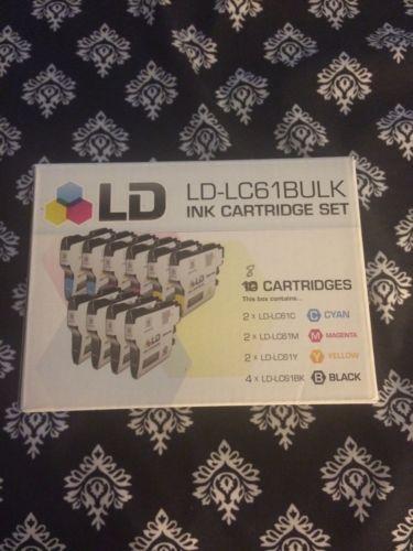 LD-LC61Bulk Ink Cartridge Set - 8 Cartridges!!