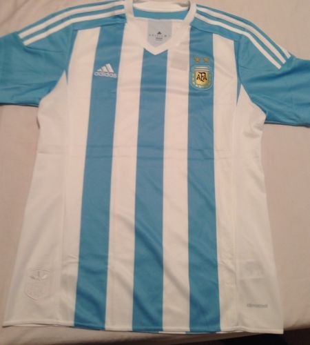 Brand New Adidas Argentina Men Soccer Jersey 2015/2016.