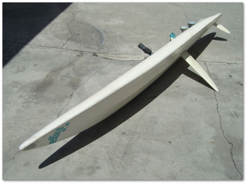 Windsurfer Windsurfing Board complete with sails, masts, and extras