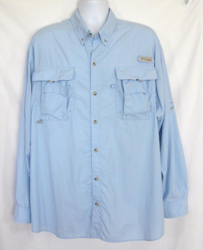 Columbia XL Shirt Mens PFG 54