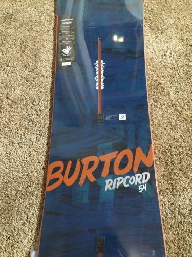 New 2016 Burton Snowboard Ripcord 154 Snowboard