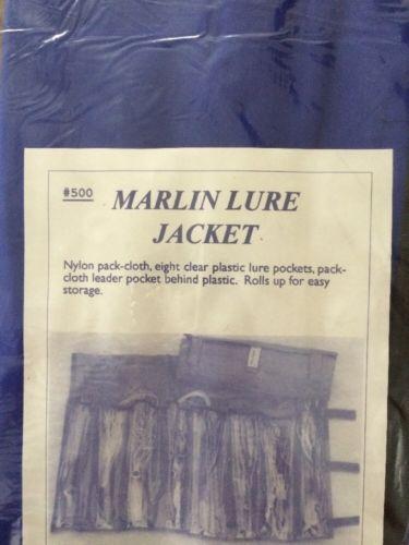 NIP MARLIN LURE HOLDER JACKET BLUE BLUE WATER OF CALIFORNIA