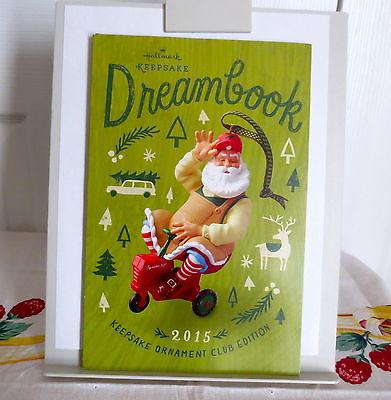 Hallmark 2015 Keepsake Ornament Club Special Edition Dreambook