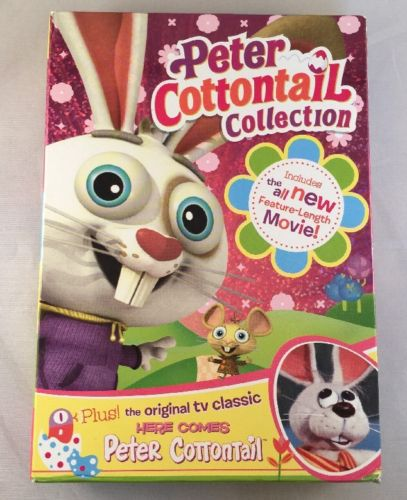 Peter Cottontail Collection Box Set  [2 Discs] DVD Region 1 Excellent Condition