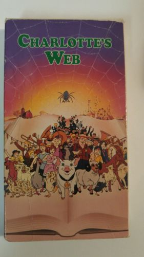 CHARLOTTE'S WEB (VHS) McDonald's VOICE OF DEBBIE REYNOLDS