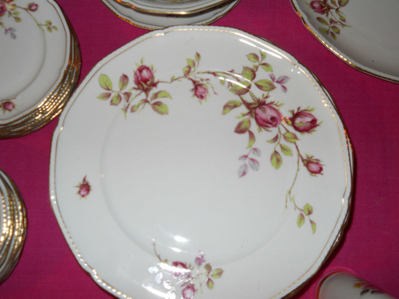 Royal Tettau Porcelian/China Set for 10 with Serving Pieces Germany US